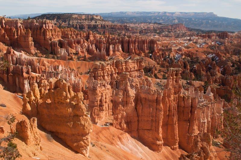 La visión desde el punto de la salida del sol pasa por alto, Bryce Canyon National Park, Utah, los E.E.U.U. fotos de archivo libres de regalías