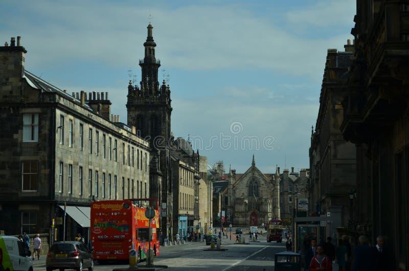 La visione od Edimburgo fotografia stock