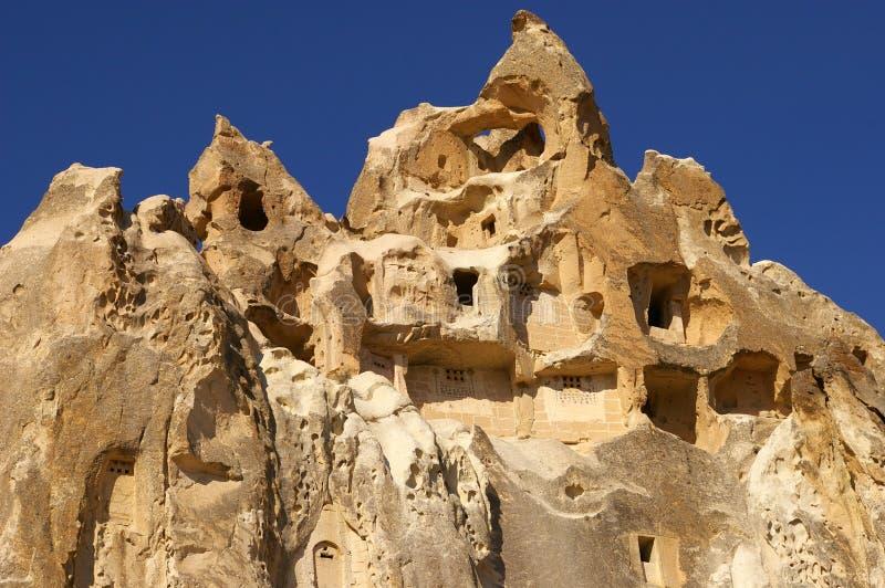La vista de Cappadocia, Goreme, Turquía fotos de archivo