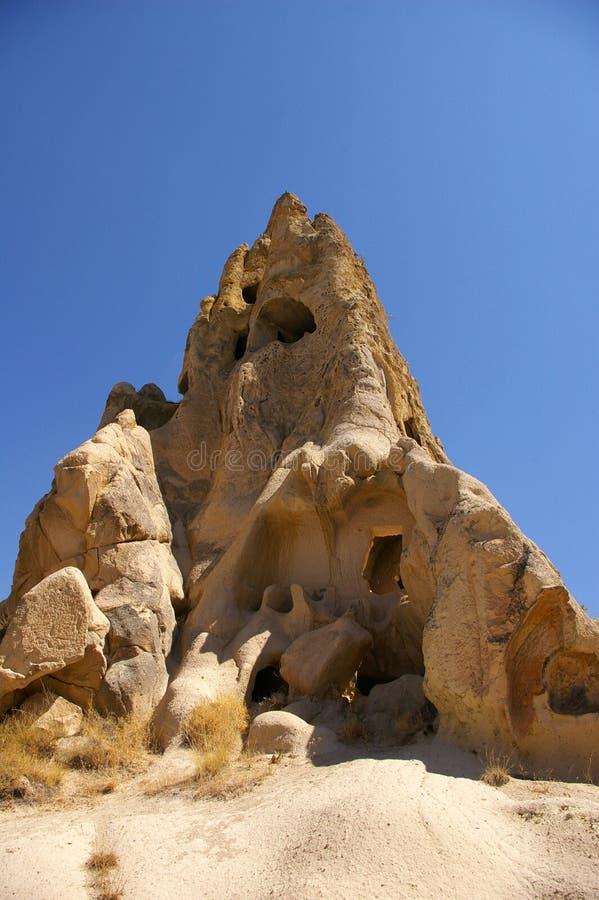 La vista de Cappadocia, Goreme, Turquía fotos de archivo libres de regalías