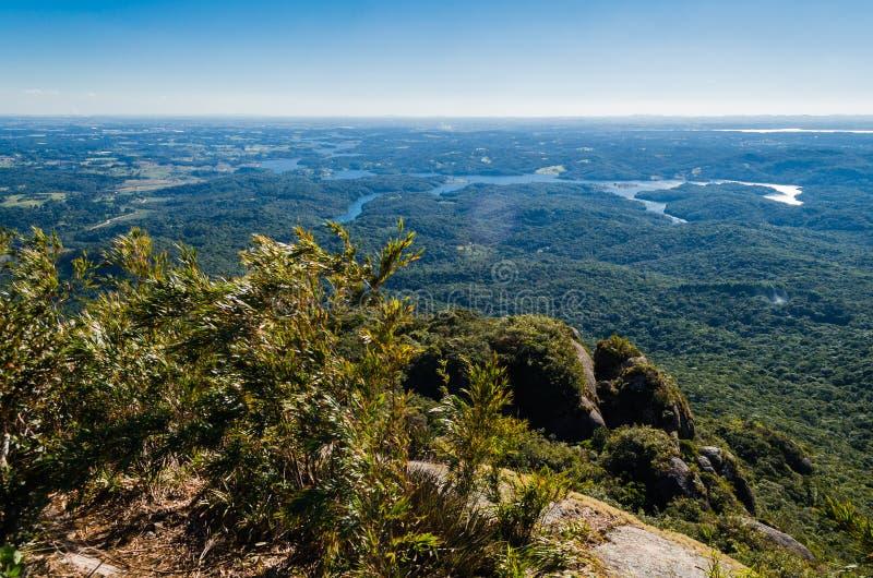 La vista de Morro hace el canal imagen de archivo