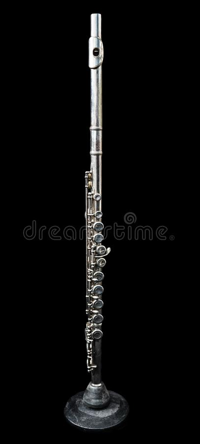 A la vista de una situación de la flauta transversal fotos de archivo