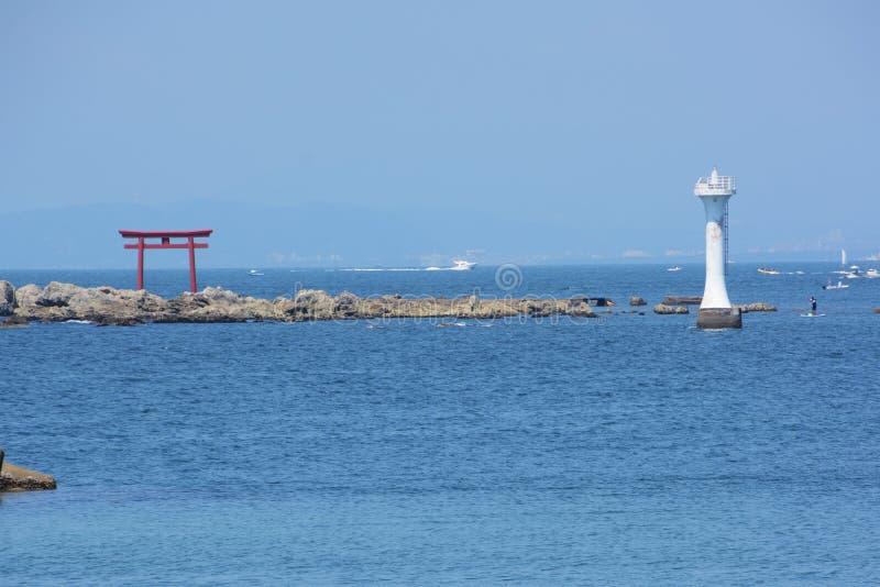 La vista del mar del verano fotografía de archivo libre de regalías