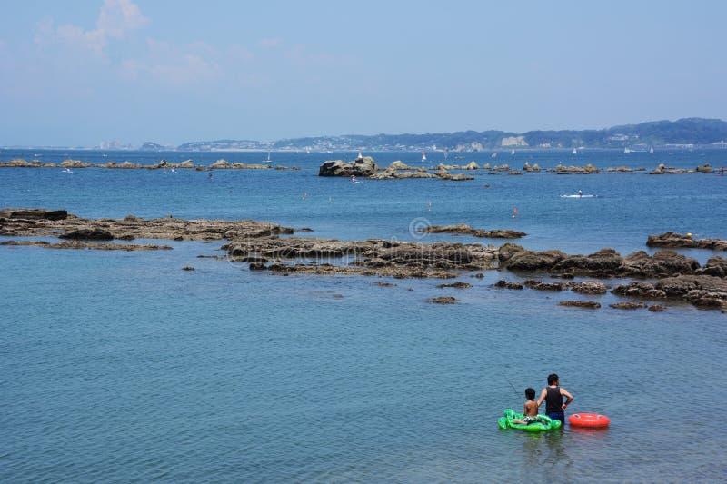 La vista del mar del verano foto de archivo libre de regalías