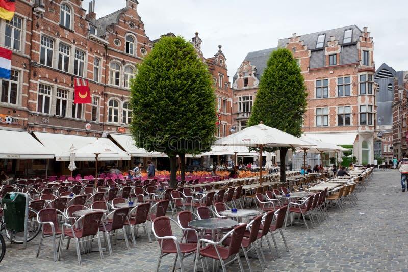 Vista di Grote quadrato Markt fotografia stock libera da diritti