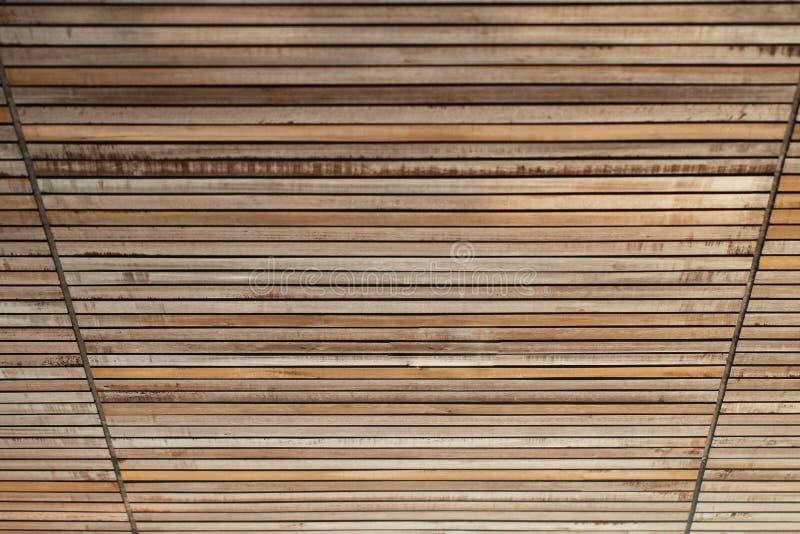 La vista di prospettiva per la natura ha dipinto il chiaro effetto di legno in bianco vuoto di struttura fotografie stock libere da diritti