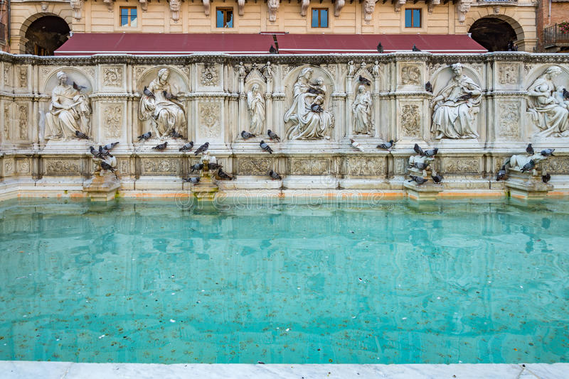 La vista di Siena, Toscana, Italia fotografie stock