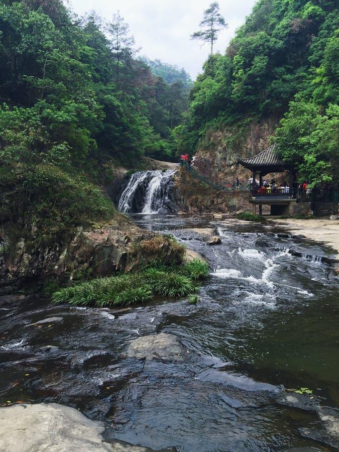 La vista di Wuxie Zhejiang Cina fotografia stock