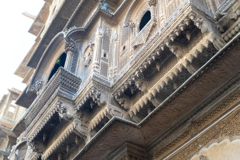 La vista a una de la ciudad india más beautifulest fotos de archivo libres de regalías