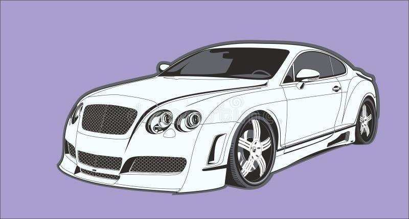 La voiture conceptuelle photos stock