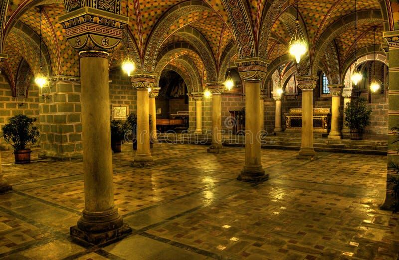 La volta della cattedrale fotografia stock libera da diritti