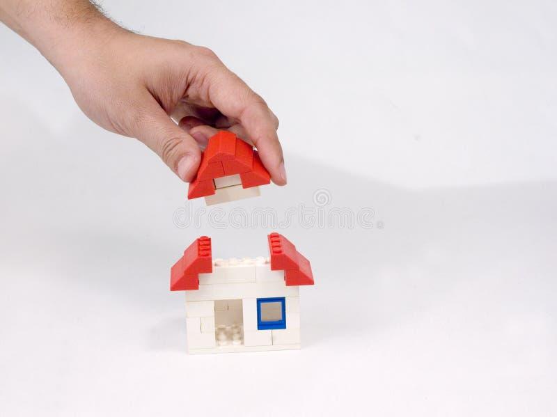 La vostra casa fotografie stock