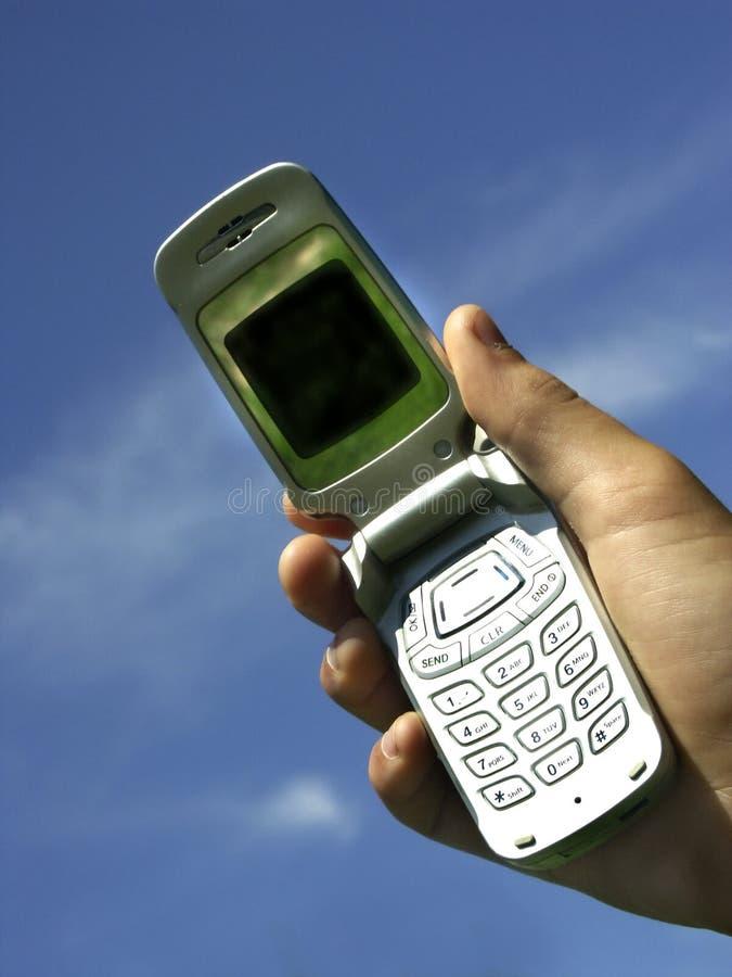 Download La vostra chiamata fotografia stock. Immagine di mobile - 204534