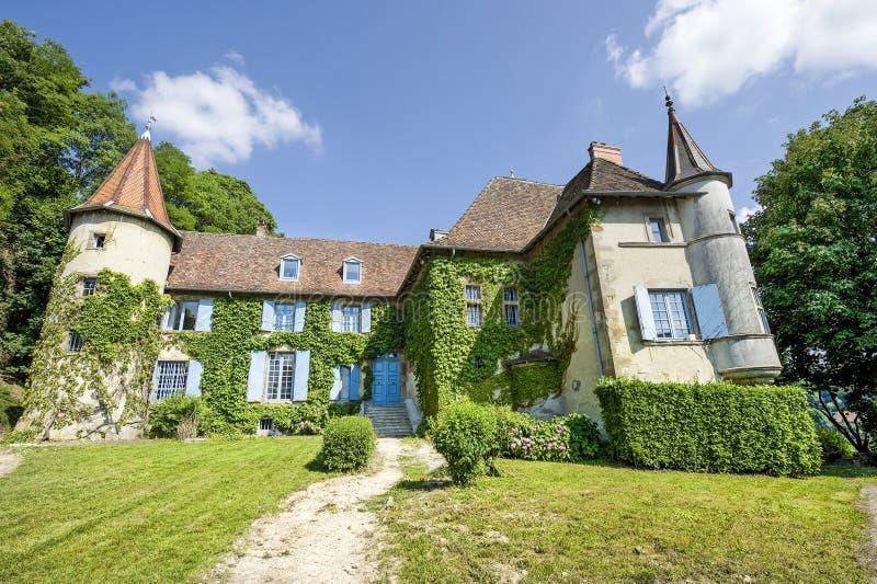 La-Voyager-du-Pin - Château image stock