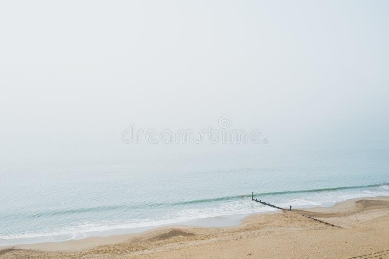 La vue au-dessus de la Manche photographie stock libre de droits