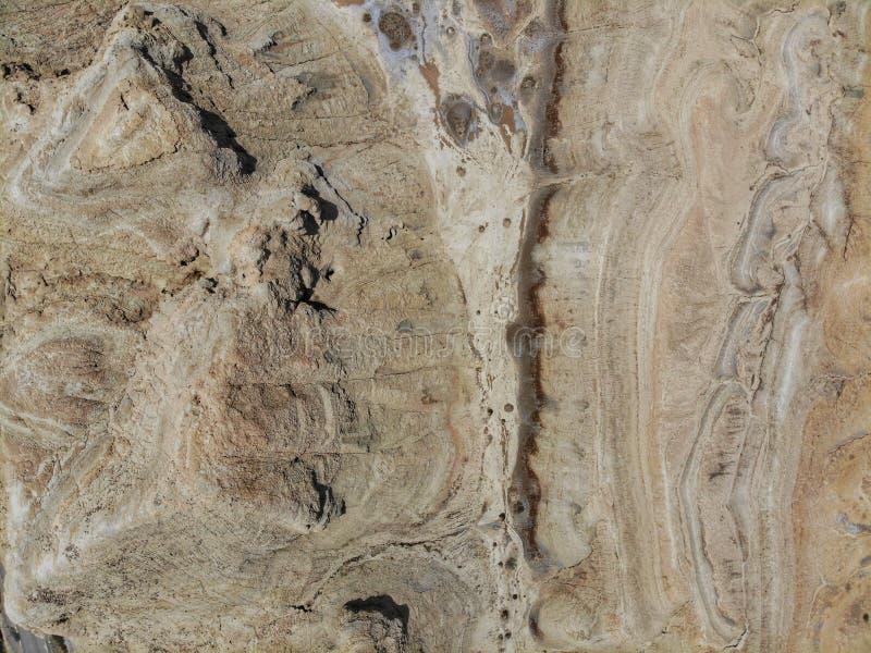 La vue d'entre le ciel et la terre du paysage dans Delingha Delingha est une ville dans la province de Qinghai du nord, Chine images stock