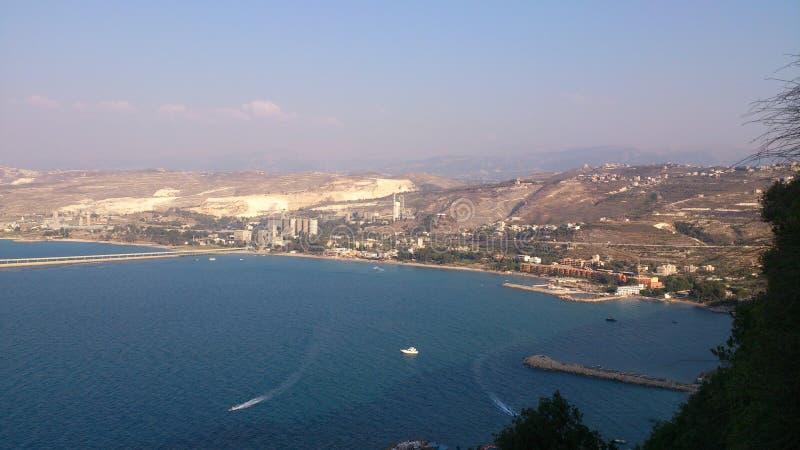 La vue de Dier Sayedat Al Noureye image libre de droits