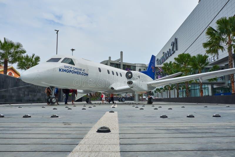 La vue de face du terminal 21 Pattaya de centre commercial photos stock