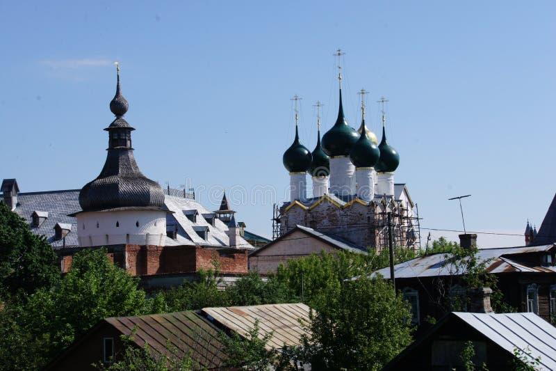 Download La Vue De L'anneau D'or De La Russie - La Ville De Rostov Veliky Dans La Région De Yaroslavl Photo stock - Image du ville, russia: 87709288