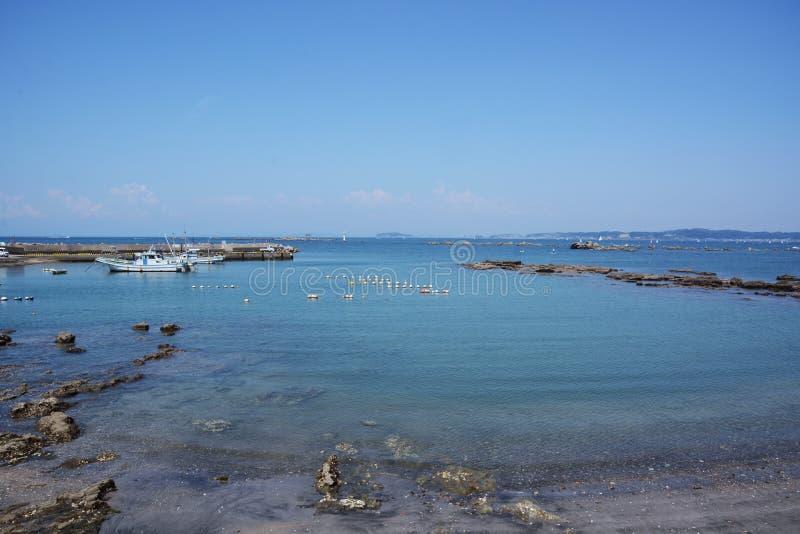 La vue de la mer d'été image libre de droits