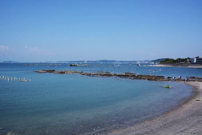La vue de la mer d'été images stock