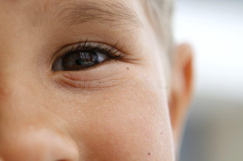 La vue des enfants image libre de droits