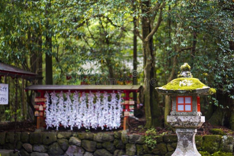 La vue du tombeau de Hakone Le tombeau de Hakone est un tombeau de Shinto japonais sur les rivages du lac Ashi dans la ville de H photo libre de droits