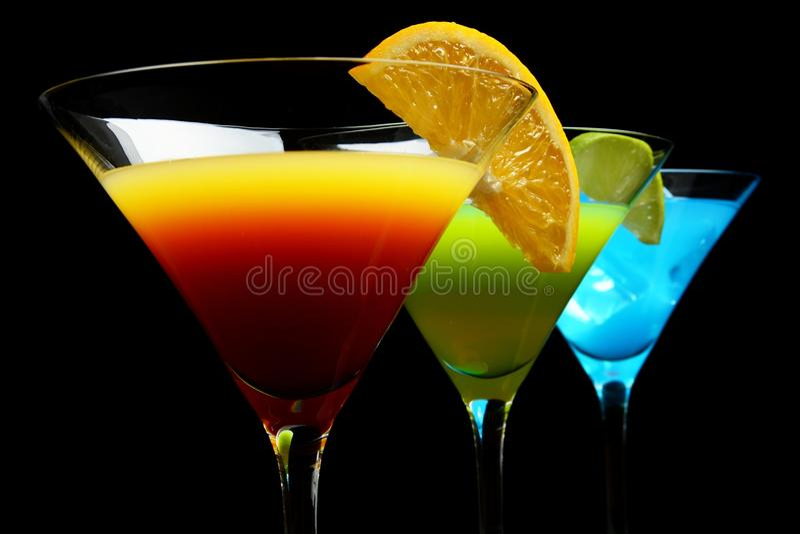 Download La Vue En Gros Plan Du Cosmo Boit Sur Une Partie Photo stock - Image du nightlife, margarita: 45364274