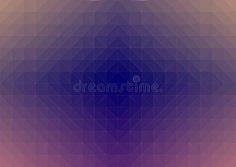 La web de ara?a marr?n azul polivin?lica baja del extracto form? espiral textured libre illustration