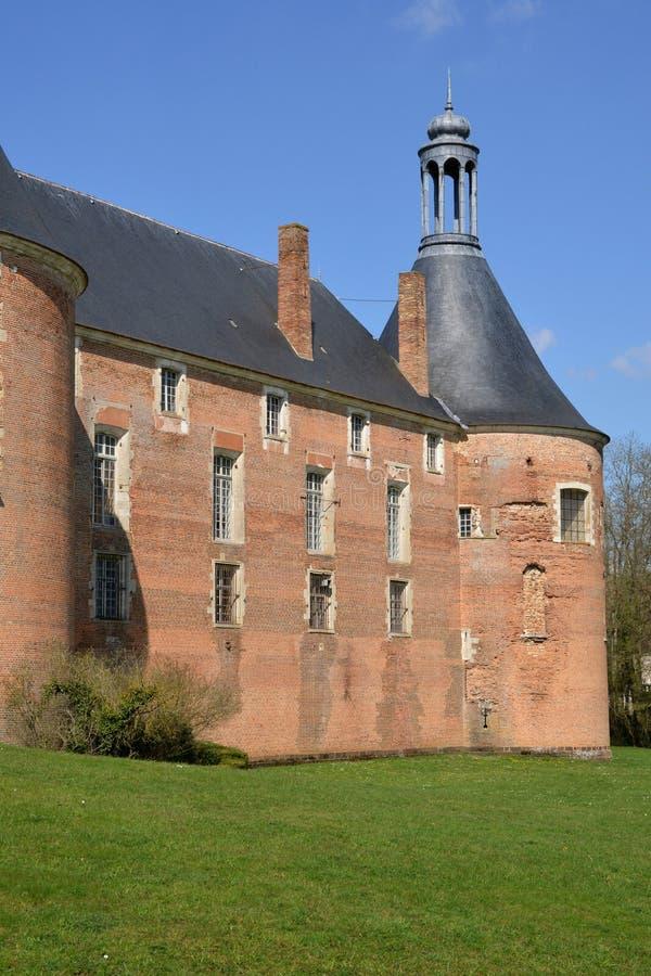 Download La Yonne, Le Château Pittoresque Du Saint Fargeau Photo éditorial - Image du historique, monument: 56477861