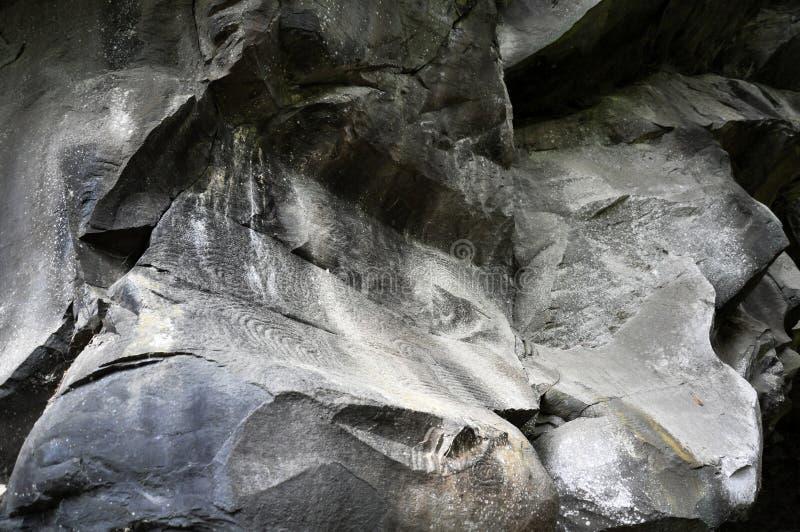 La Zarza | Petroglifi | 2 immagini stock