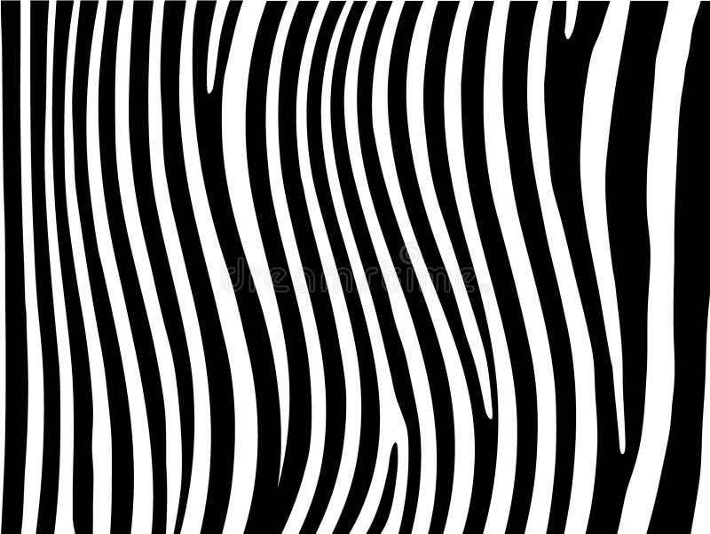 La zebra barra la priorità bassa illustrazione di stock