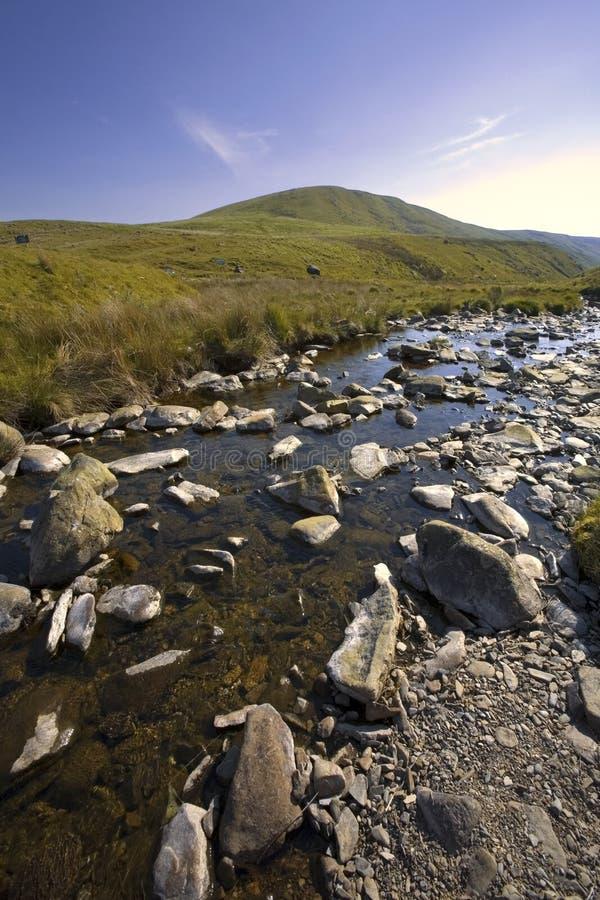 La zona di montagne cambriana della valle di slancio della b naturale eccezionale fotografia stock