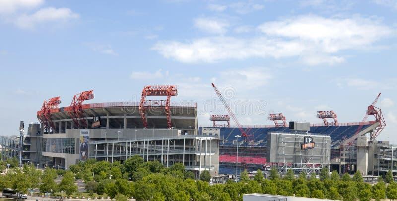 La zone de LP est un stade de football à Nashville, Tenne images libres de droits