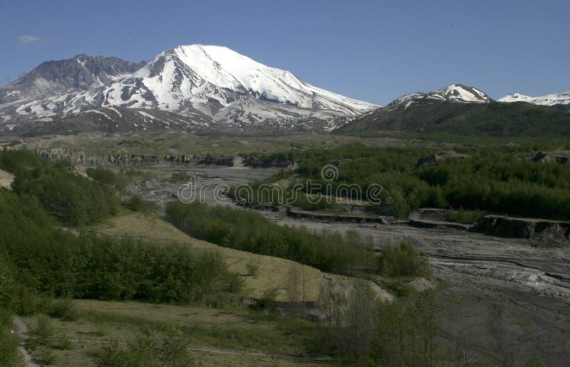 La zone 1980 de souffle du Mont Saint Helens photos stock