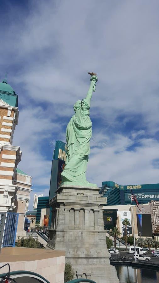 Laa Vegas New York New York lizenzfreie stockfotos