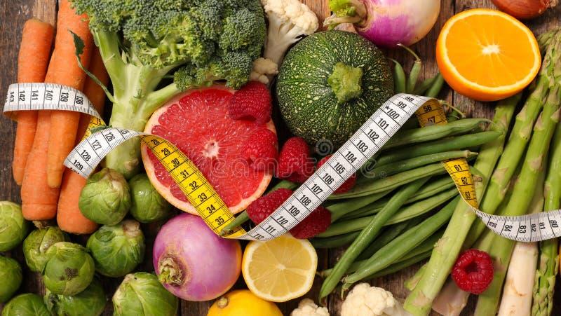 Laag - calorie, natuurlijke voeding royalty-vrije stock afbeeldingen