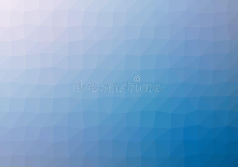 Laag poly helder multicolored licht het patroonkristal driehoeks van de achtergrondkleurengradiënt, de vlakke illustratie van de  vector illustratie