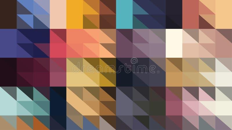 Laag polypatroon stock foto's