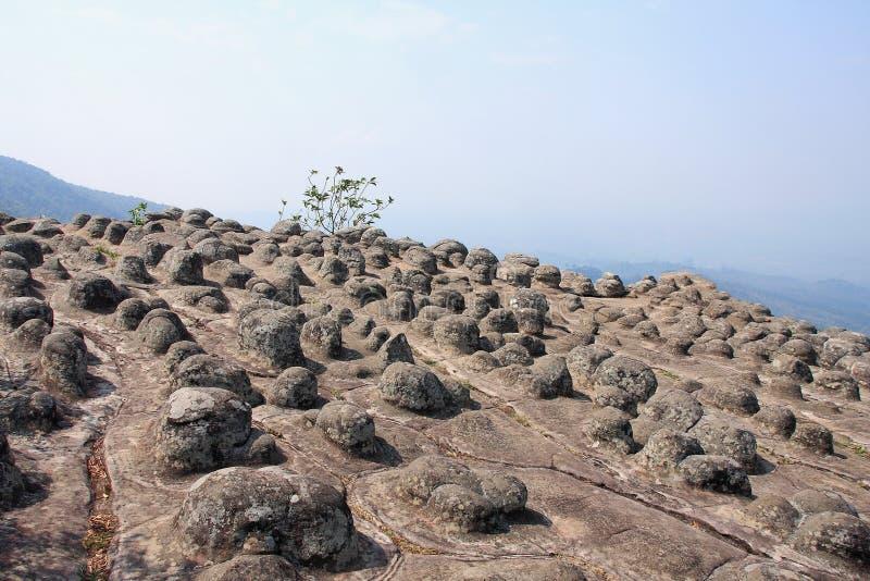 Laan Hin Pum synvinkel på den Phu Hin Rong Kla nationalparken arkivbilder