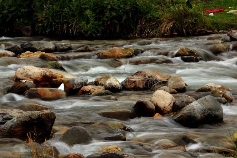 Laar river, Poloor, Iran royalty free stock photography