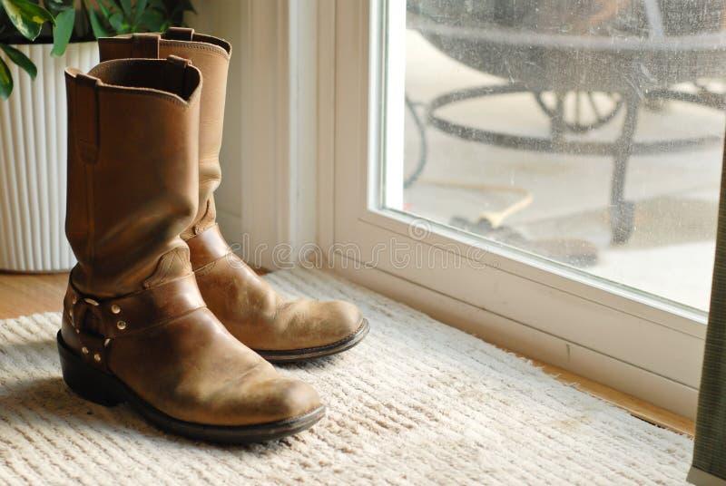 Laarzen stock afbeelding
