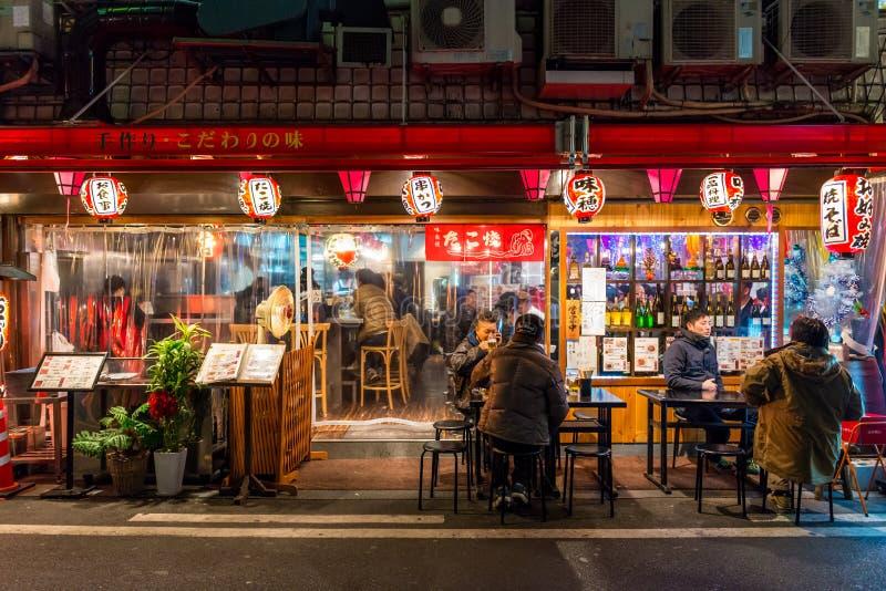 Laat - nacht het Dineren royalty-vrije stock fotografie