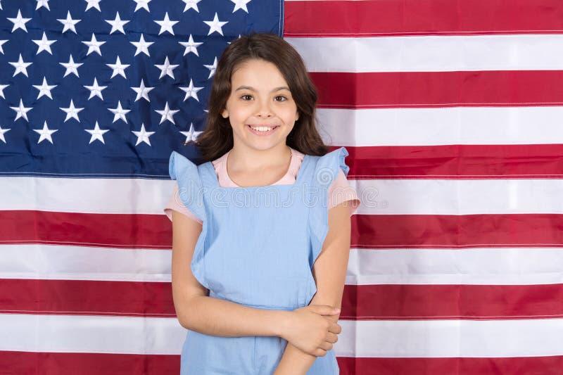 Laat vrijheid regeren De onafhankelijkheid is geluk De vakantie van de onafhankelijkheidsdag Amerikanen vieren onafhankelijkheids royalty-vrije stock afbeelding