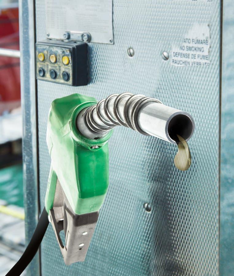Laatste daling van brandstof stock afbeeldingen