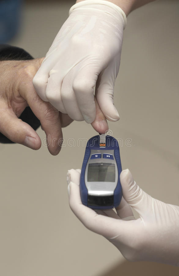 Lab blood test health care medicine diabetes stock photo