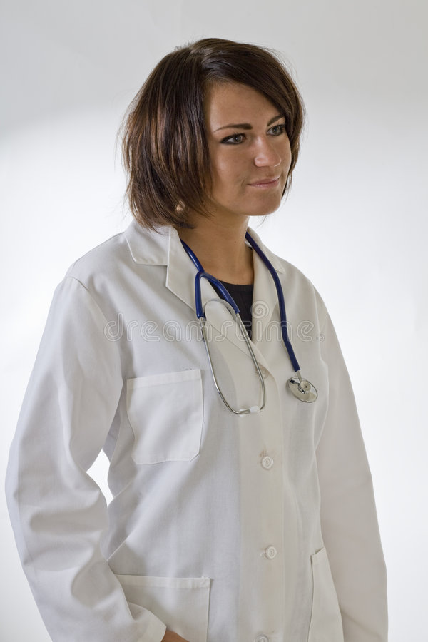 Download Lab Coat Model 1 Stock Photography - Image: 3482522