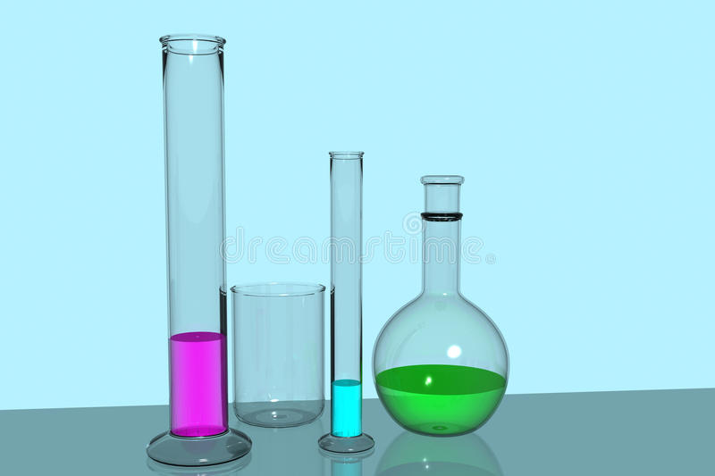 Download Lab equipment stock illustration. Image of care, colour - 16666314