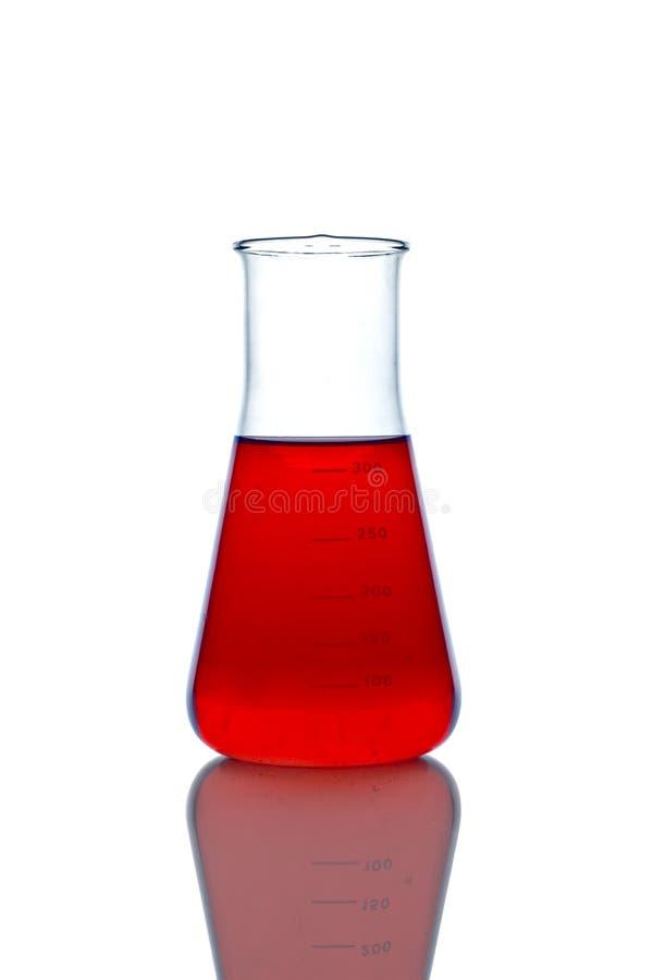 Lab glassware royalty free stock image