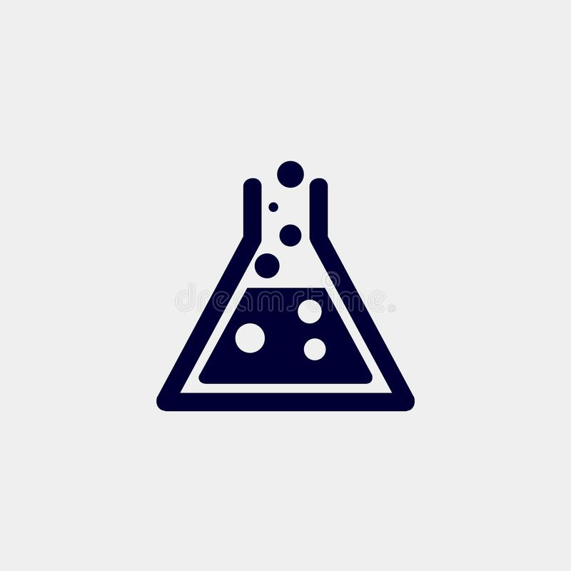 Lab ikona ilustracja wektor